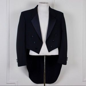 Christian Dior Tuxedo Jacket with Tails